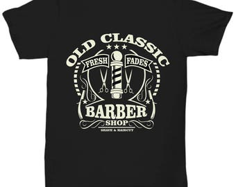 Old Classic Barber Shop T-shirt
