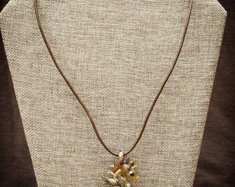 Handmade Glass Seahorse Pendant