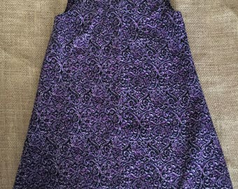 Purple Jumper | Handmade | Size 18-24 months / 2T