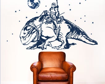 Wall Decal Lizard with Stormtrooper M1909