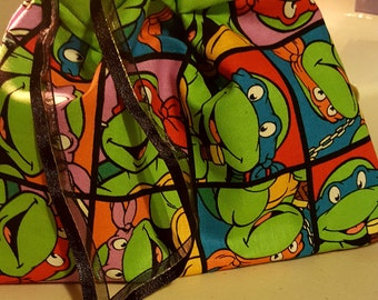 Teenage Mutant Ninja Turtle Drawstring Bag