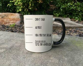 Coffee Timeline, Funny Coffee Lover Mug, Funny Coffee Mug,Gift for her, Coffee Lover Gift, Gift for Coffee Lover, Mug, Gift for him