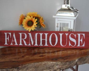 Small Farmhouse Sign, Farmhouse Sign, Reclaimed Wood Sign