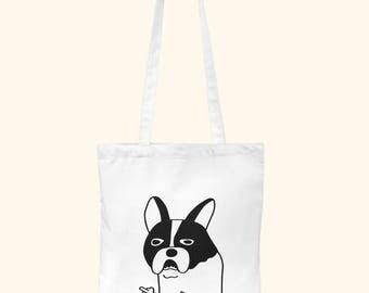 gift for her idea, secret santa gift, Tote Bag Canvas dog, dog tote bag, women tote bag, dog lover gift, birthday gift idea, christmas gift