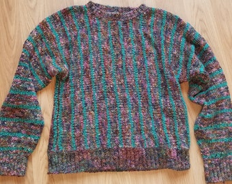 1990s Patterned Sweater