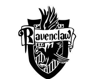 Ravenclaw Decal - Ravenclaw Crest + Free Surprise Gift with every Order