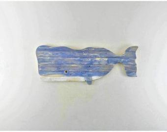 Whale 115x45cm pallet wood