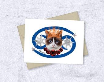 cancer birthday card digital download / joyeux anniversaire carte téléchargement numérique / tarjetas de cumpleaños descarga digital