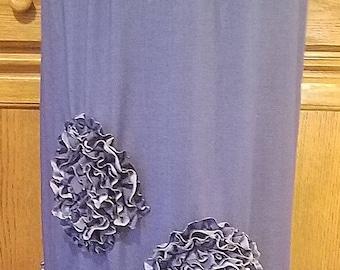 Womens Custom Jean/Denim Skirt
