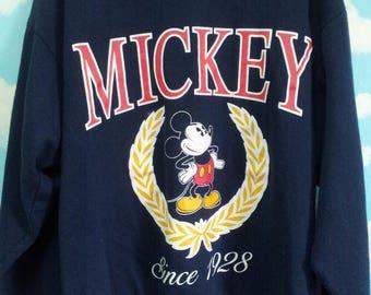 Authentic Vintage Mickey Mouse sweatshirt