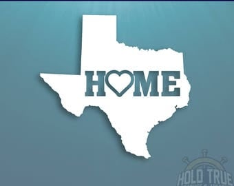 Texas Decal - PICK COLOR and SIZE - Texas Home Decal - Tx Decal - Texas Car Decal - Texas sticker - Texas laptop decal - Texas