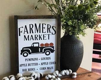 Rustic Fall Decor - Fall Sign - Harvest Sign - Wood Sign - Pumpkin - Farmhouse Decor - Fall Decor - Harvest Decor - Autumn Decor - Autumn
