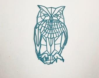 Geometric Modern Owl Wall Art 3D Printed, Animal Wall Art, Motheru0027s Day,  Cute Part 43