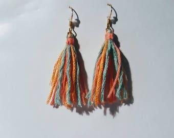 earrings (model: tassel)