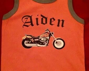 Customized Motorcycle Shirt