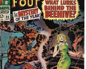 FANTASTIC FOUR #66 | Sep 1967 | Marvel | Jack Kirby | Stan Lee