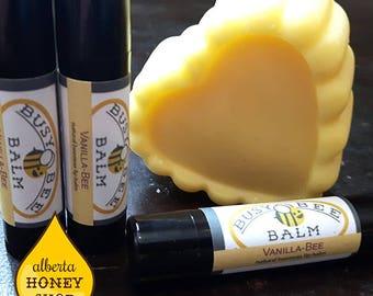 Beeswax Lip Balm (Vanilla-Bee)