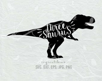 Three A Saurus Etsy
