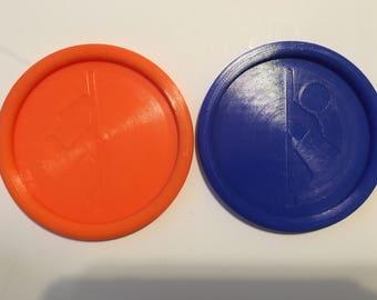 Portal Drink Coasters