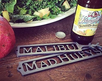 Personalized Bottle Opener - Custom American Steel with Clear Coated Metallic Finish - Perfect Gift for Any Occasion