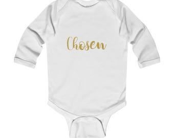 Chosen  Infant Long Sleeve Bodysuit