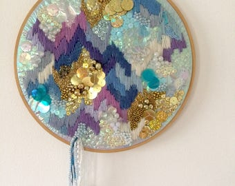 Dreamscape Original Embroidery 28cm