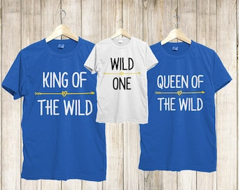 Wild one shirt, Wild one birthday shirts, wild one birthday tshirts, wild one birthday outfit, wild one family shirts, wild one birhtday tee