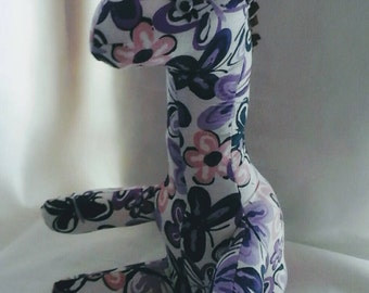 Lupus awareness giraffe