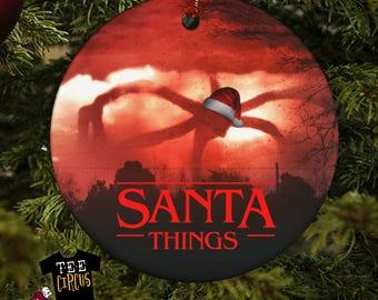 Stranger Things - Stranger Things Ornament - Stranger Things Season 2 - Stranger Things Gift- The Upside Down - Hawkins - Christmas Ornament