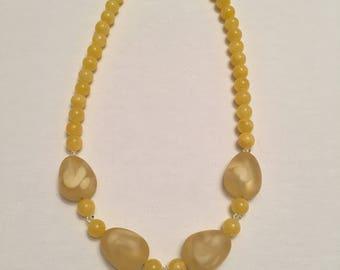Yellow Sunshine Necklace