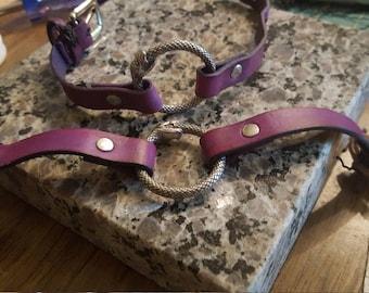 Ourboros Leather Bracelet