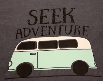 Seek Adventure Long Sleeve Shirt