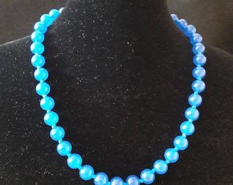 Blue Onyx Necklace
