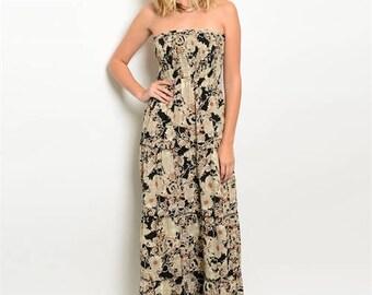 Briana Floral Maxi Dress