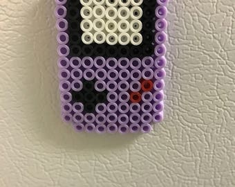 Gameboy inspired magnet (Purple)