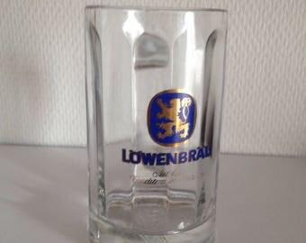 Löwenbräu 0.25L Beer Glass