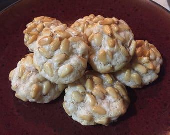 Italian Pinoli Cookies