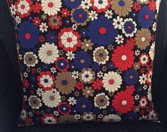 Luxury flower theme cushion