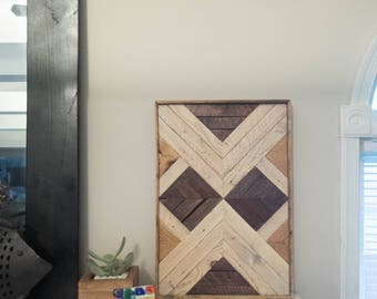 Boho Reclaimed Cedar Wall Decor