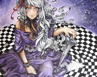 Kindai Cinderella: Subari Origin 5x7 Print