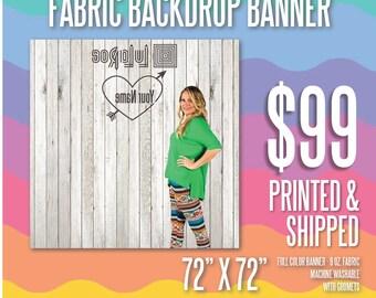 LuLaRoe Reverse Backdrop Banner - 6' x 6'