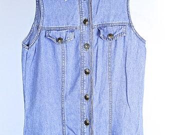 Vintage 90s denim dress S/M
