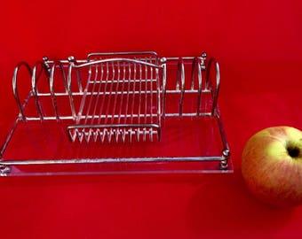 Vintage Silver-Plated Toast Rack