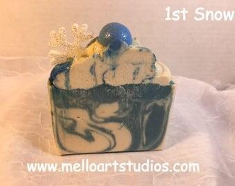 1st Snow soap