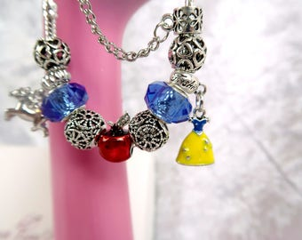 PRE-ORDER 5 Wks My Prince Will Come Charm Bead Bracelet