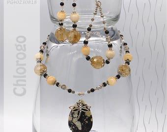 Jewelry Set | Necklace, Bracelet, Earrings | Chlorogo PG40230818