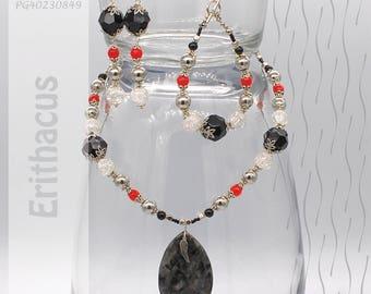 Jewelry Set | Necklace, Bracelet, Earrings | Erithacus PG40230849