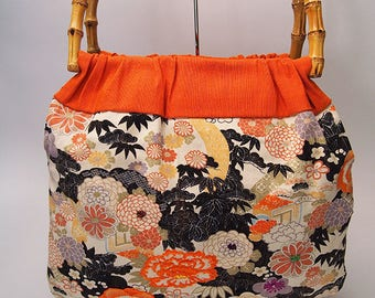 Bamboo Handle Bag