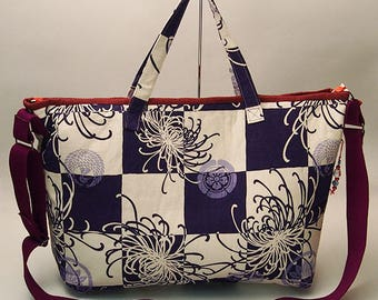Large Chrysanthemum Tote Bag