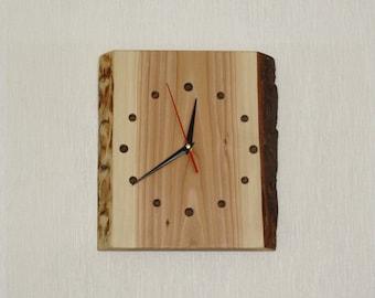 Original solid wood clock